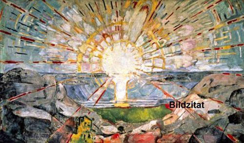 Munch-the sun 1912