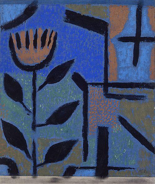 Paul Klee. Nacht-Blüte. 1938. Sprengel Museum Hannover