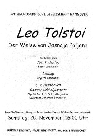 Tolstoi-Handzettel