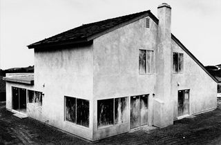 Lewis Baltz Tract House Nr. 9 1971 Serie Tract House