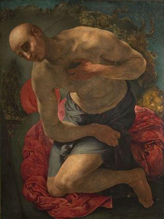 LMHannover-Jacopo_Pontormo_Der_Heilige_Hieronymus_als_Buesser_um_1528_29_Landesmuseum_Hannover