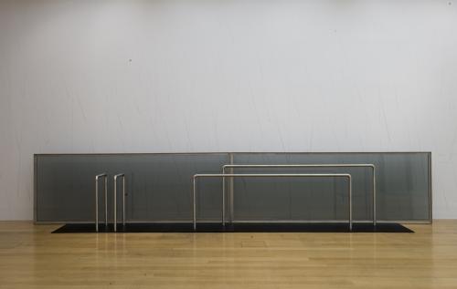 Goshka Macuga Haus der Frau 2 InstallationsansichtTurner Prize 2008